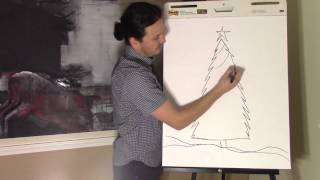 How to draw a Christmas tree with Ramon Carrasco