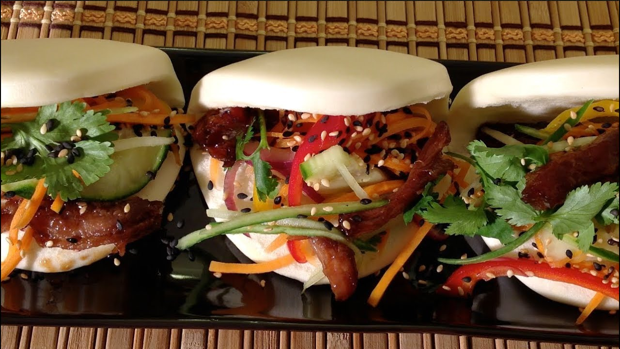 Steamed Pork Buns With Slow Cooked Pulled Pork-How To Make