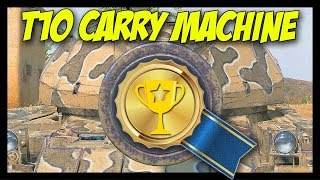 ► Tier 10 Carry Machine - World of Tanks Super Conqueror Gameplay