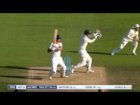 Ashes highlights - Cook makes 85 but England struggle on day 3