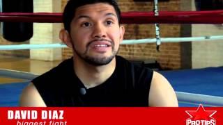 David Diaz tells ProTips4U about fighting Manny Pacquaio