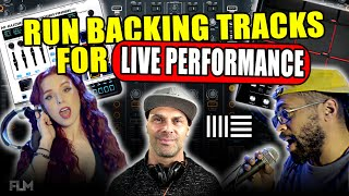How To Run Backing Tracks Live | Top 3 Ways in 2021