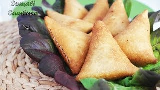 Sambusa - Triangles Stuffed With Meatloaf - Driehoekjes Gevuld Met Gehakt