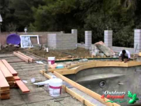 Pool Installation - Time-Lapse in pictures
