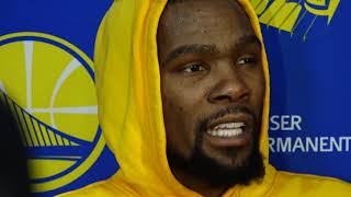Warriors' Kevin Durant on Patrick Beverley's NBA playoff tactics