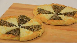 مناقيش بالجبنة والزعتر | سالي فؤاد