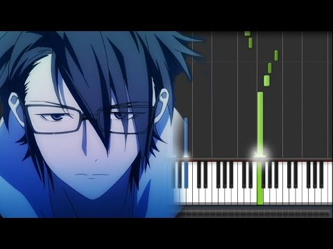 K Anime (アニメ「K」) OST - Kiss of Death (Piano Synthesia Tutorial + Sheet)