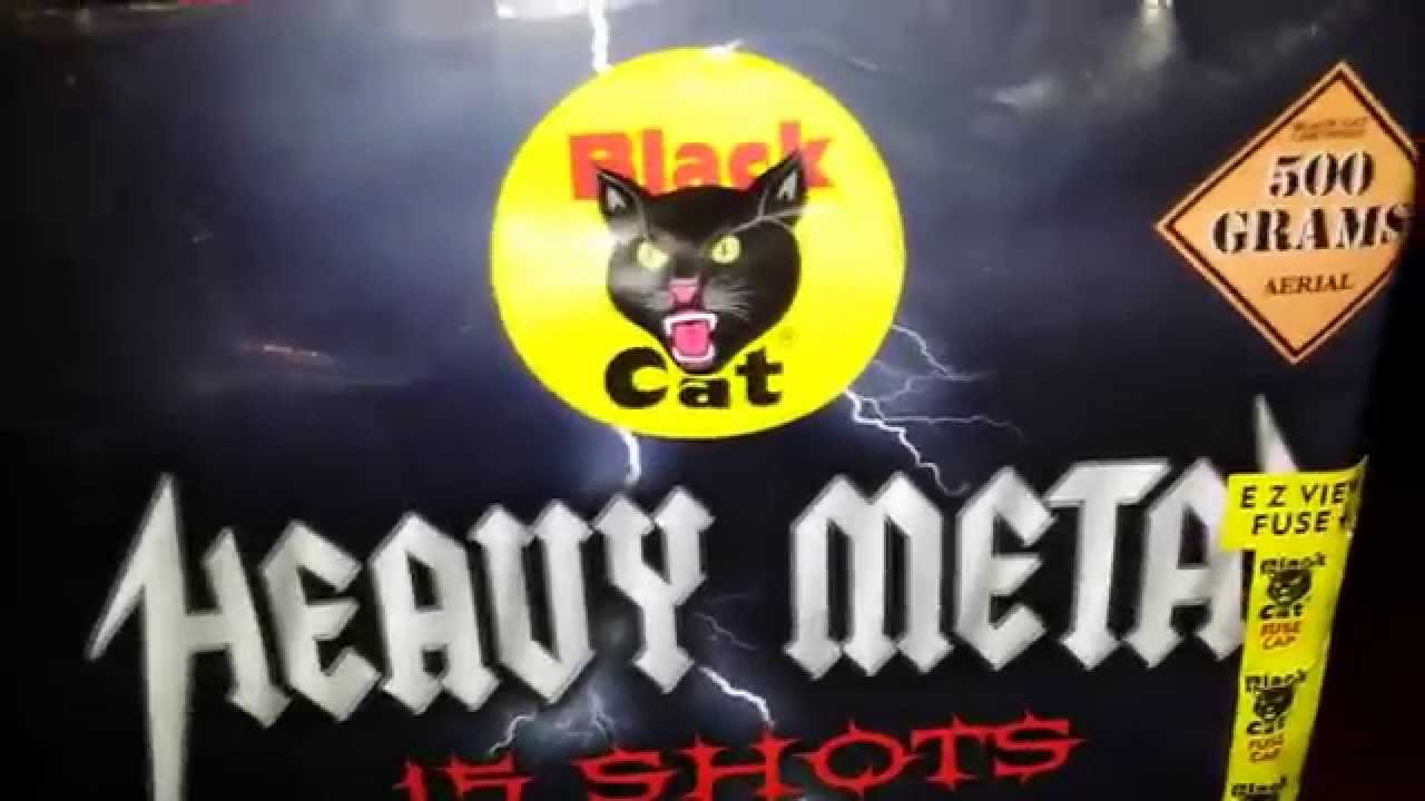 Black Cat Fireworks Demo