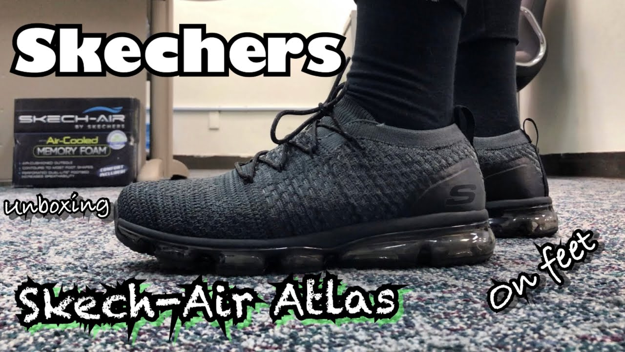 Skechers Skech-Air Atlas Charcoal