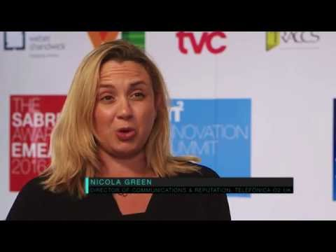 Telefonica's Nicola Green at the 2016 In2 Innovation Summit EMEA