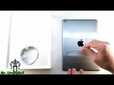 iPad 2018 Wi-Fi 32GB Space Gray Серый Космос | Обзор и Первое Включение АйПад 2018 32ГБ...