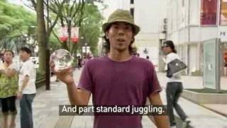 Contact Juggling presented by National Geographic