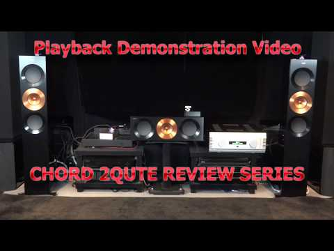 2Qute Gibb RPO Titanic Requiem Live Recorded Chord Electronics Dac Demo  Review