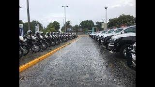 Camilo Santana entrega 156 novos veículos para a Polícia Militar