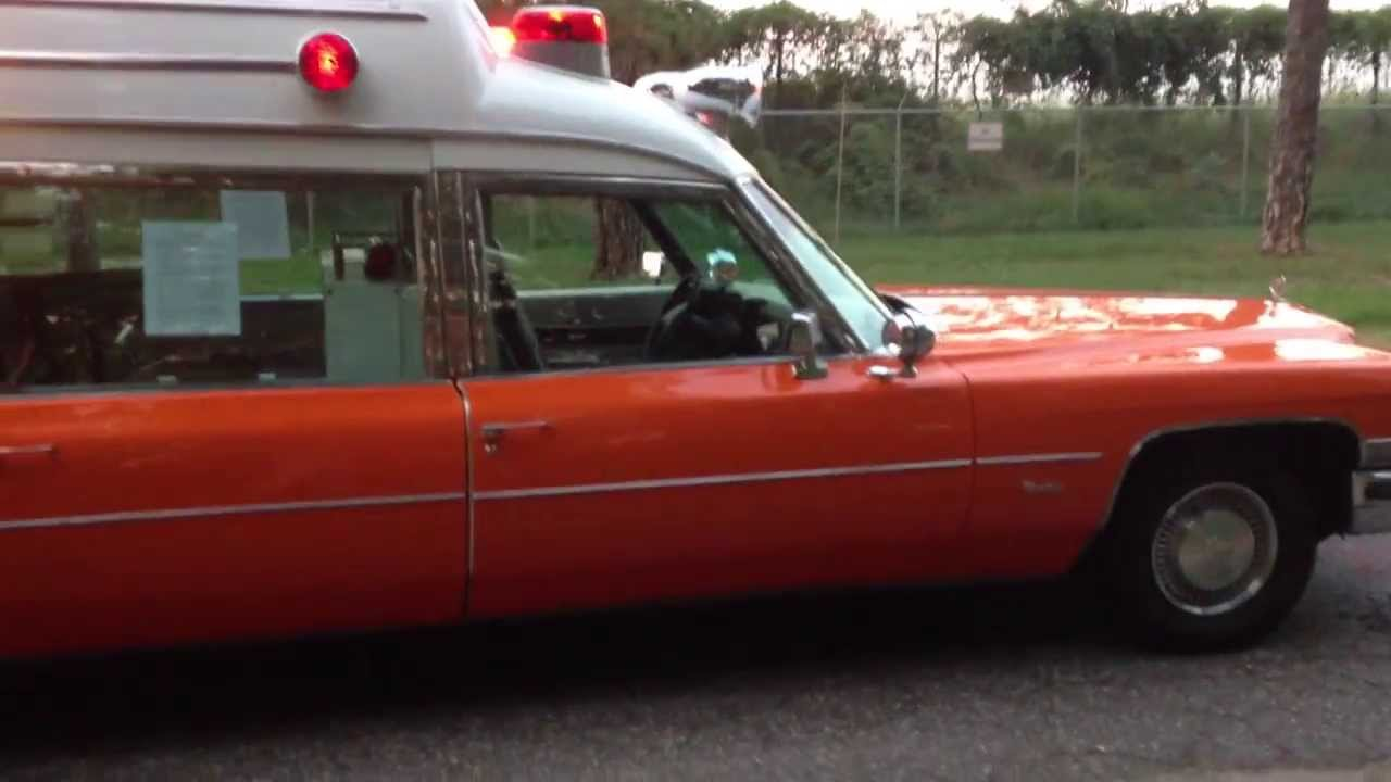 1973 Cadillac ambulance