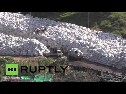 Lebanon: 'River of trash' threatens to engulf Beirut suburb