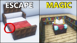 Minecraft: 10+ Secret Castle Redstone! [easy]