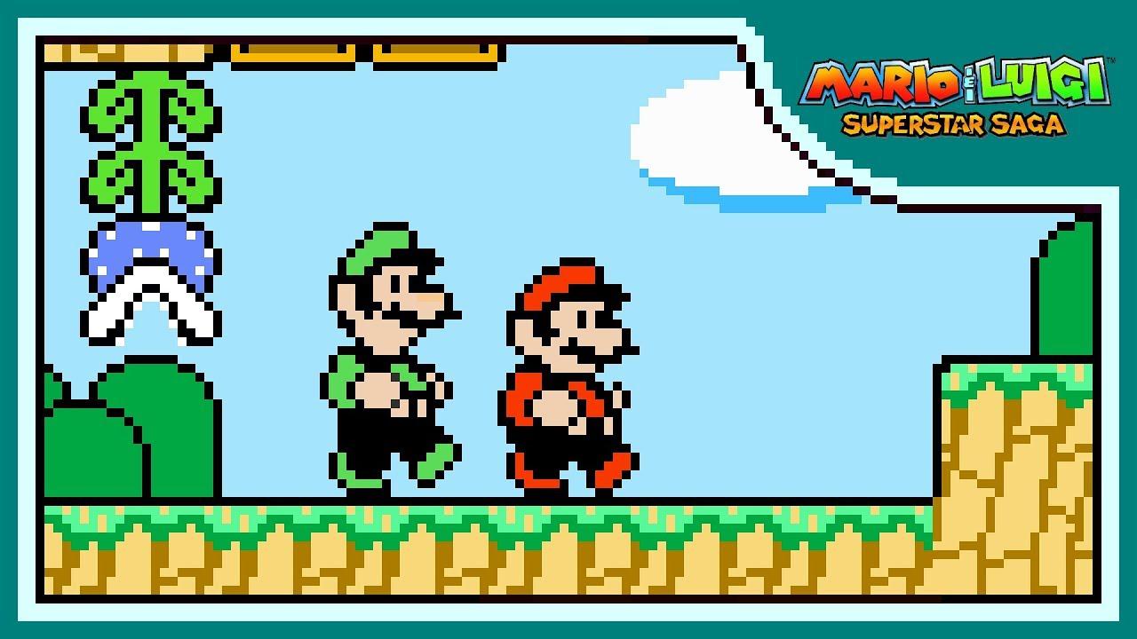Beanbean Kingdom 8 Bit Remix Mario Luigi Superstar Saga