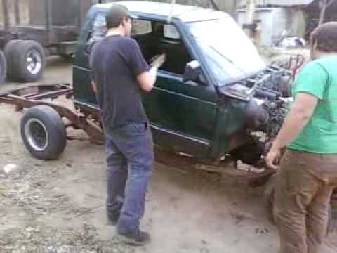 How to remove a cab off a S10