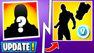 *NEW* Fortnite Update! | Snowfall Skin, Starter Pack, Future Map, Fire King!