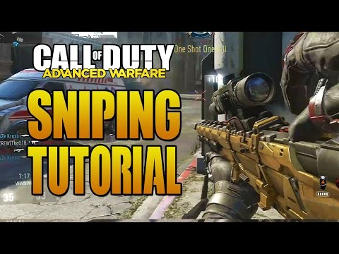 Advanced Warfare Sniping & Quickscoping Tutorial! How to Snipe in Call of Duty