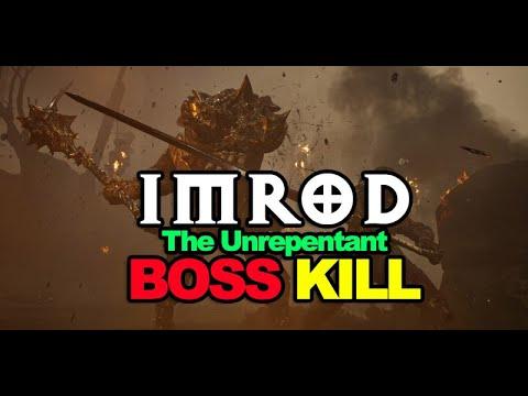 [MORTAL SHELL] IMROD, THE UNREPENTANT BOSS KILL & STRATEGY (1080p) |