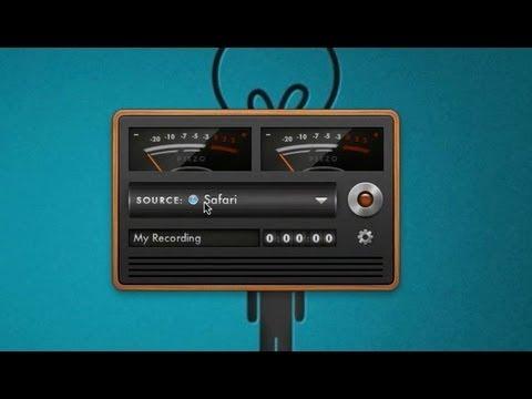 audio recording on computer