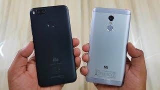 Mi A1 vs Redmi Note 4 SPEED TEST | COMPARISON!!