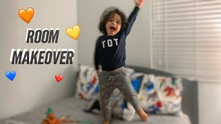 Surprising Mateo With A NEW ROOM!!