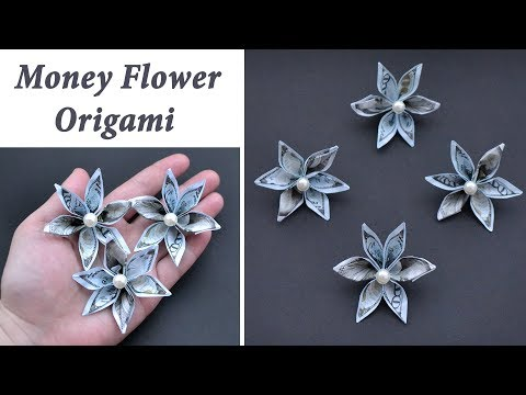 Easy Money DOUBLE FLOWER Lei | Idea For Graduation | Origami Dollar Tutorial DIY By NProkuda
