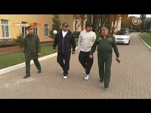 Стас Михайлов оставил в Ставрополе сына