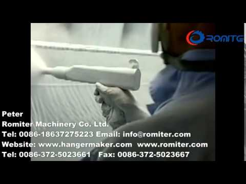 Electrostatic coating machine and powdering booth with recycle system-Romiter Machinery