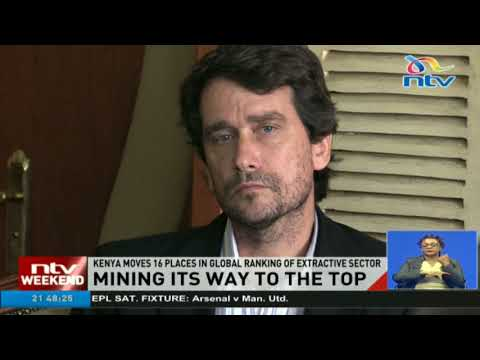 Kenya moves 16 places in global ranking of mining sector
