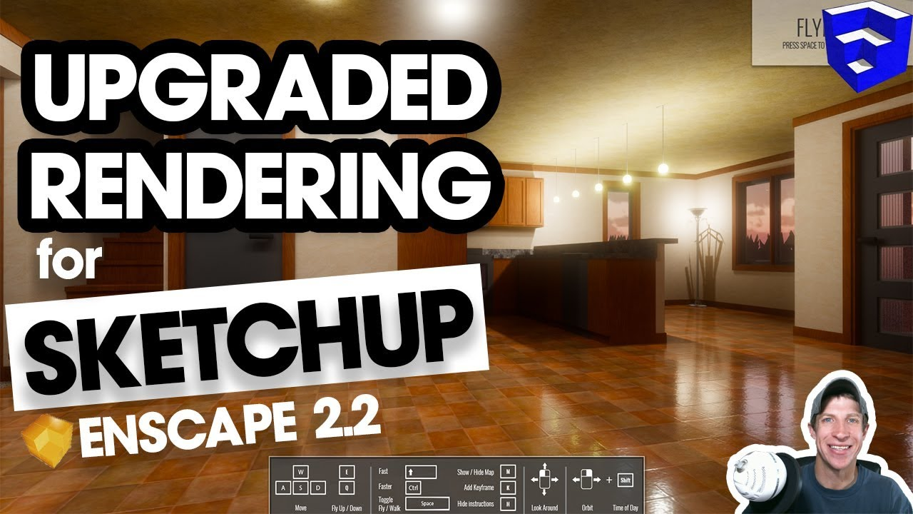 UPGRADED REAL TIME RENDERING for SketchUp? Enscape 2 2 New Feature Overview