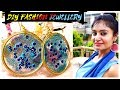 Fashion Earrings Making | How to make earrings at home | DIY Jewellery