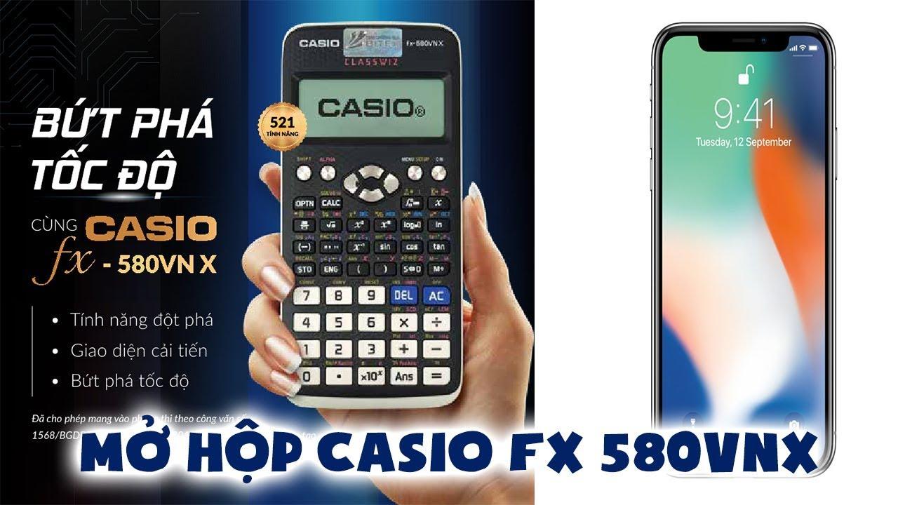 Đánh giá phiên bản iPhone X của dòng máy tính Casio FX 580VNX