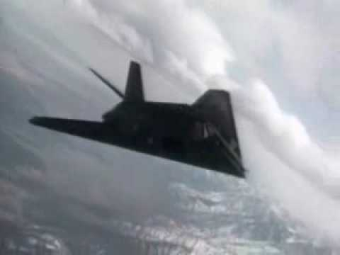 F-117 NIGHTHAWK - The Invisible Jet