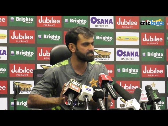 We back ourselves to get to 450 in first innings - Mohammad Hafeez