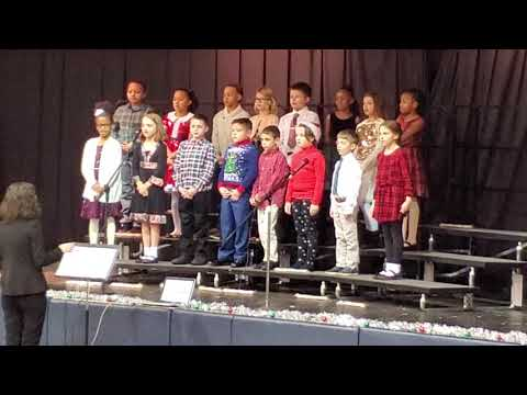 Nick John and Gianna Christmas Concert Corpus Christi Academy  December 12th 2019