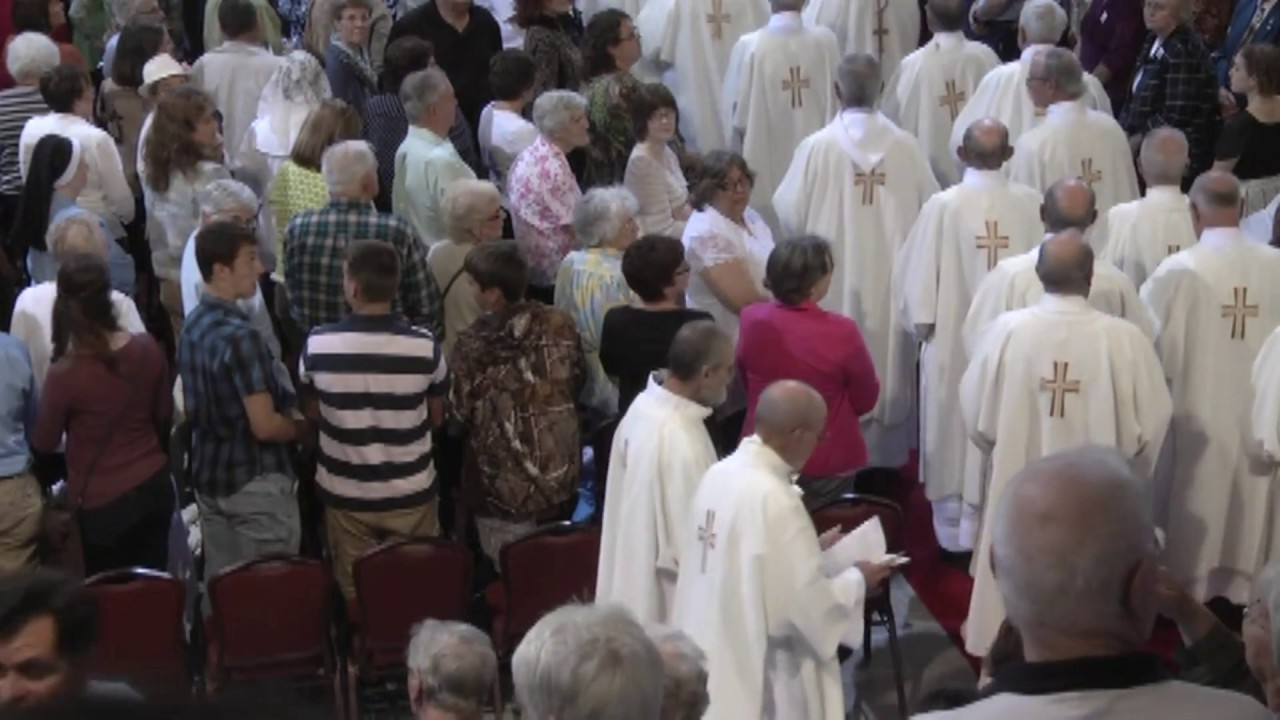 Solemn Mass in Lake Placid part one  9-29-13