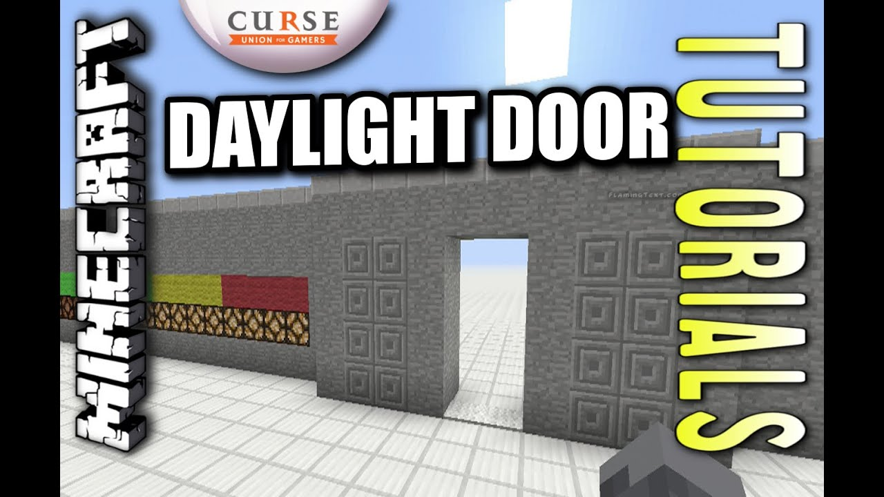 how to make a door in minecraft ps4