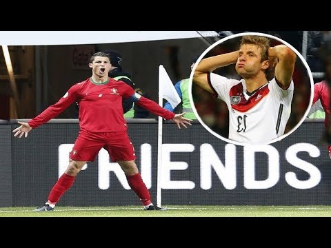 5 Great National Teams DESTROYED By Cristiano Ronaldo