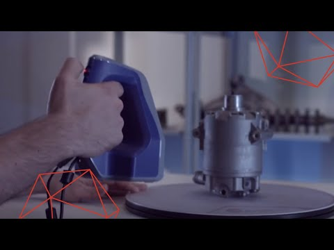 Industrial 3D scanning and data processing in Artec Studio