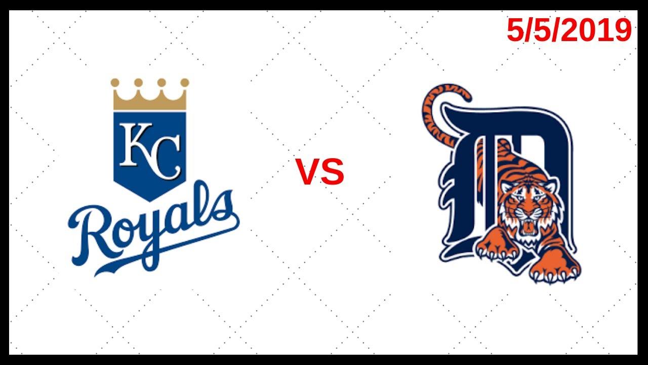 Kansas City Royals Game Recap (5/5/2019) Detroit Tigers Game Recap