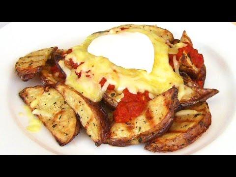 Картофель в мультиварке с грибами и сыром
