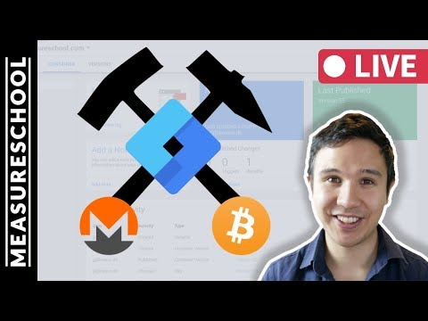 🔴   Crypto Mining with Google Tag Manager? Cryptojacking and Coinhive