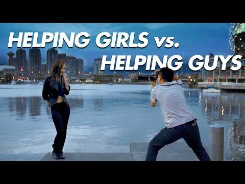 Helping Girls vs. Guys (Part 1/2) - LIFE OF BRI