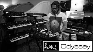 Korg Arp Odyssey - FIRST 5 MINUTES - With Dan Haigh