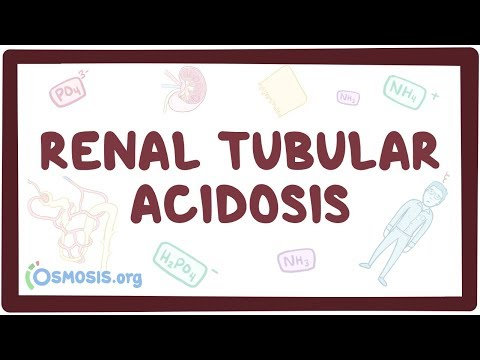Renal tubular acidosis - causes symptoms diagnosis treatment pathology