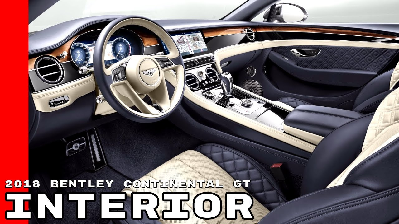 2018 bentley continental gt interior youtube. Black Bedroom Furniture Sets. Home Design Ideas